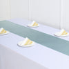 "12""x108"" Dusty Sage Satin Table Runner"