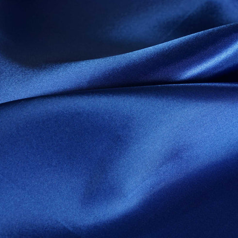 "12""x108"" Royal Blue Satin Table Runner"