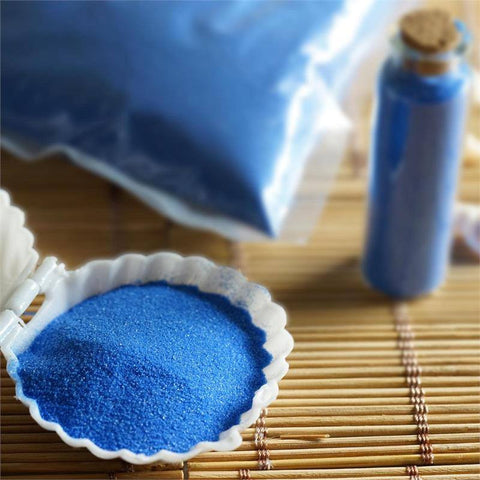 Whimsical Decorative color Sand - 1lb - Royal Blue