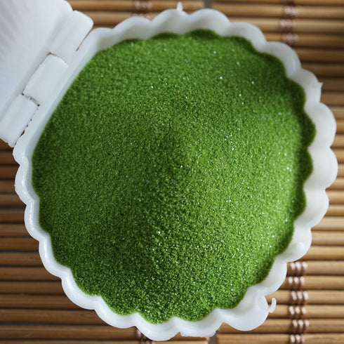 1 Pound | Grass Green Decorative Sand For Vase Filler
