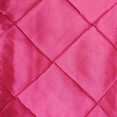 5pc x Fushia Pintuck Chair Sash