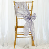 5pc x Lavender Pintuck Chair Sash