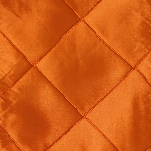 5pc x Orange Pintuck Chair Sash