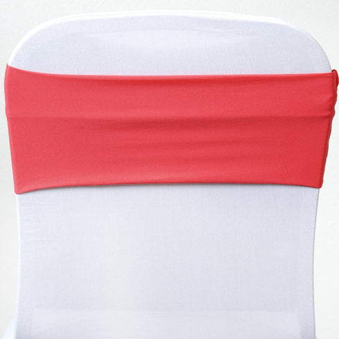 5pc x SEXY Spandex Chair Sash - Coral