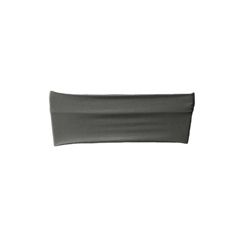 "5 Pack | 5""x12"" Charcoal Grey Stretch Spandex Chair Sash"