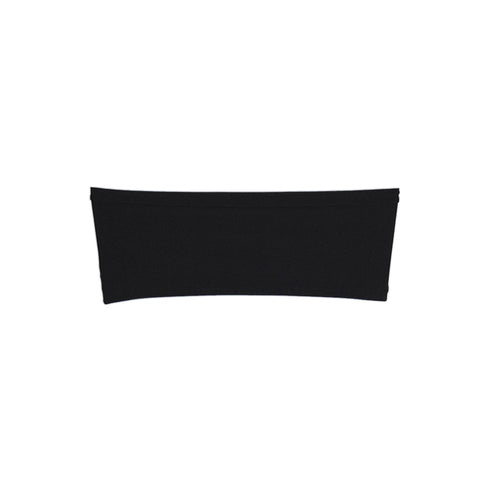 "5 pack | 5""x12"" Black Spandex Stretch Chair Sash"