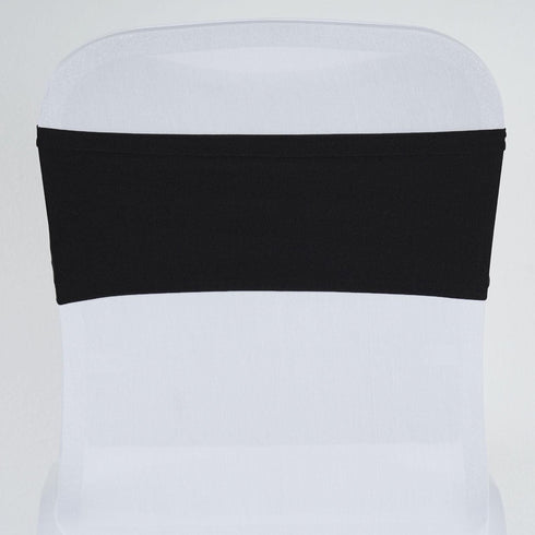 5pc x SEXY Spandex Chair Sash - Black