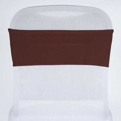 5pc x SEXY Spandex Chair Sash - Chocolate
