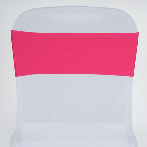 5pc x SEXY Spandex Chair Sash - Fushia
