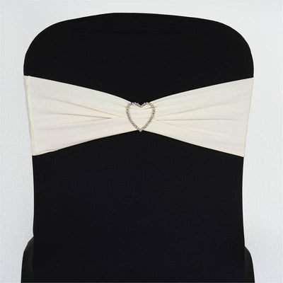 5pc x SEXY Spandex Chair Sash - Ivory