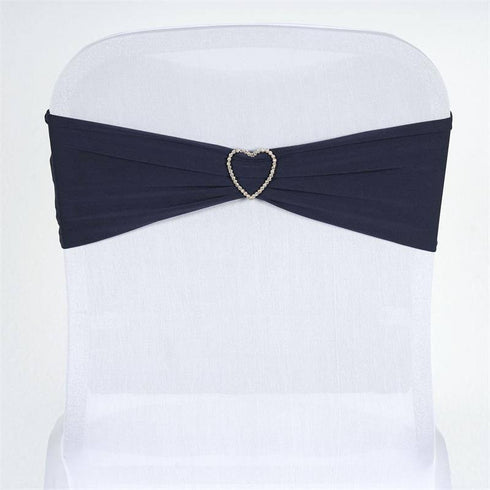 5pc x SEXY Spandex Chair Sash - Navy