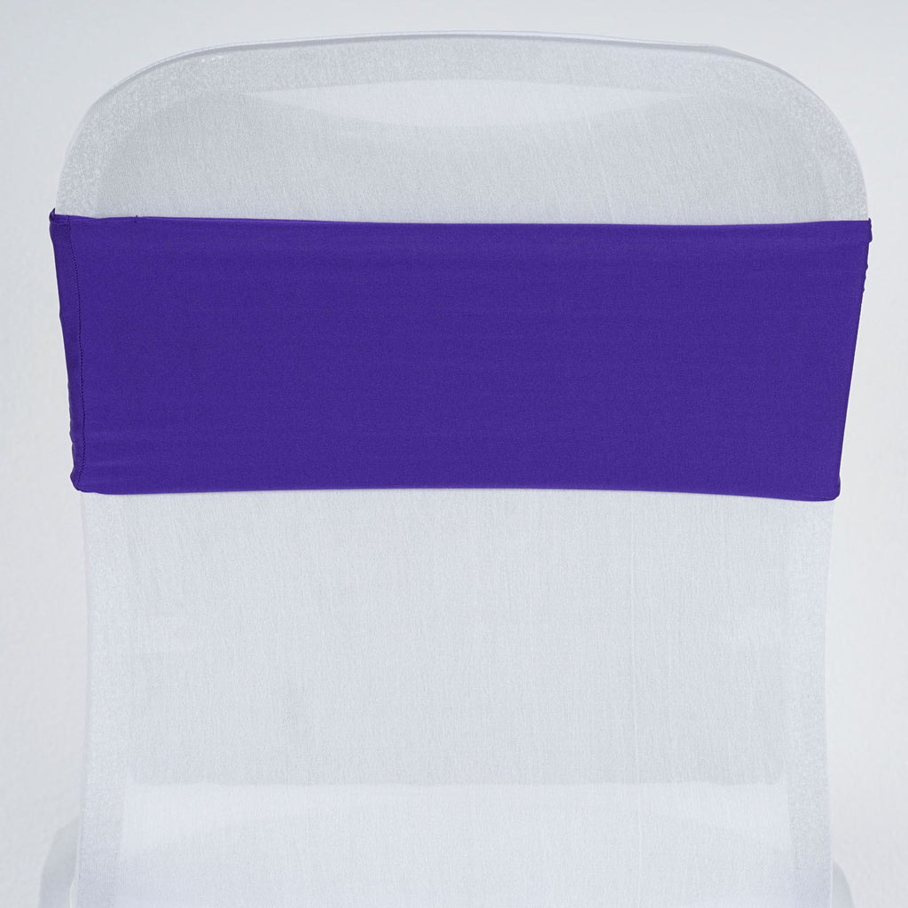 5pc x SEXY Spandex Chair Sash - Purple