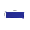 "5 pack | 5""x12"" Royal Blue Spandex Stretch Chair Sash"