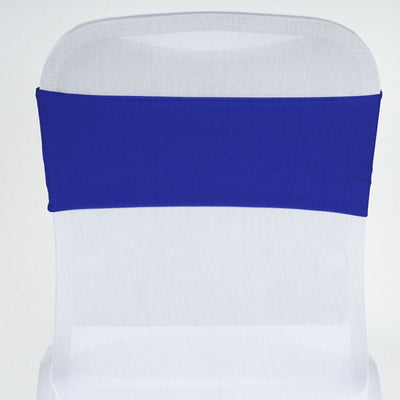 5pc x SEXY Spandex Chair Sash - Royal Blue