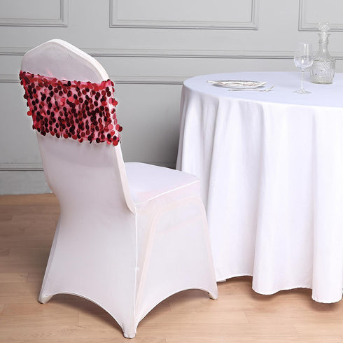 220GSM Premium White Spandex Banquet Chair Covers With Chair Foot Pockets