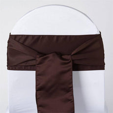 5pc x Lamour Chocolate Chair Sash