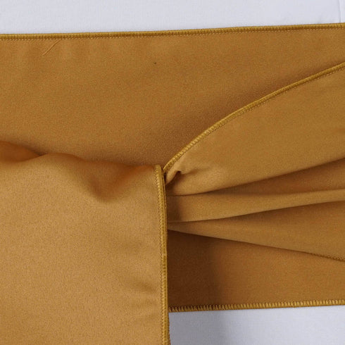 5pc x Lamour Gold Chair Sash