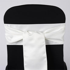 5pc x Lamour Ivory Chair Sash