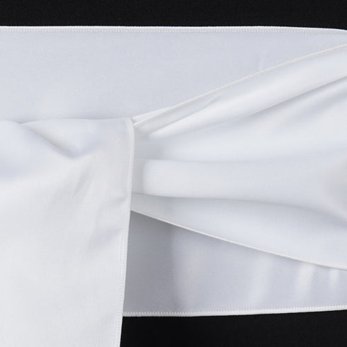 5pc x Lamour White Chair Sash
