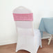 Pink Sequin Spandex, Chair Sash,