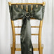 Satin Chair Sash - Laurel Green - 5pcs