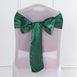 Satin Chair Sash | Hunter Green | Event Decoration Supplies | 5pcs | 6 x 106""