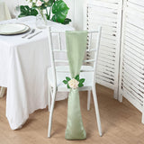 5pc x Satin Sage Chair Sash