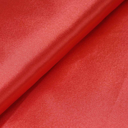 "10 Yards x 54"" Coral Satin Fabric Bolt"