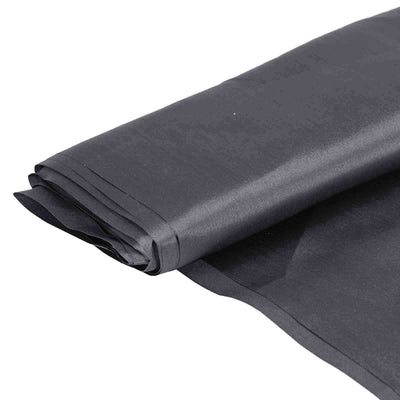 "10 Yards | 54"" Charcoal Grey Satin Fabric Bolt"