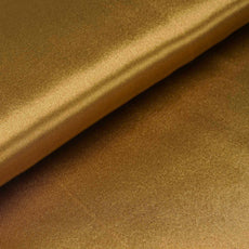 "10 Yards x 54"" Gold Satin Fabric Bolt"