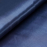 "10 Yards x 54"" Navy Blue Satin Fabric Bolt"