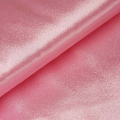 "10 Yards | 54"" Pink Satin Fabric Bolt"