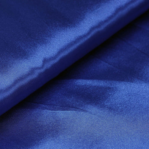 "10 Yards | 54"" Royal Blue Satin Fabric Bolt"