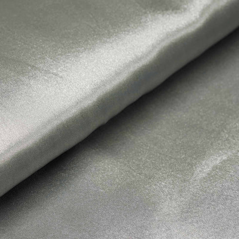 "10 Yards | 54"" Silver Satin Fabric Bolt"