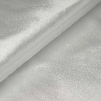 "10 Yards | 54"" White Satin Fabric Bolt"