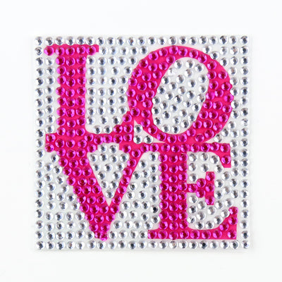 1056 Pcs Pewter Diamond Rhinestone Stickers