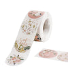 500PCS | 1.5inch Round Baby Shower Stickers Roll, Envelop Seals DIY Floral Stickers - Love & Oh Baby