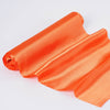 "12""x10 Yards Orange Satin Fabric Bolt Wedding Drape Panel Stage Decor"