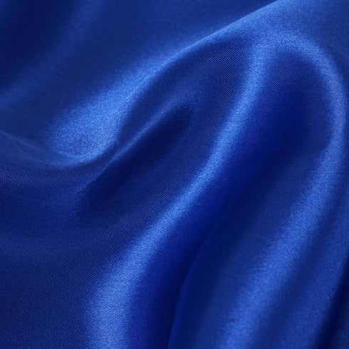 "12""x10 Yards Royal Blue Satin Fabric Bolt Wedding Drape Panel Stage Decor"