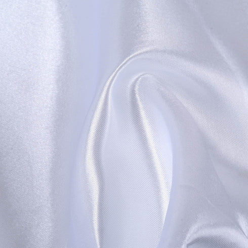 "12""x10 Yards White Satin Fabric Bolt Wedding Drape Panel Stage Decor"