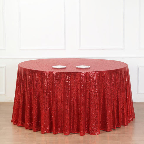 Premium Sequin Tablecloth, Round Tablecloth, Table Decoration