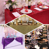 60x102inches Burgundy Premium Sequin Rectangle Tablecloth