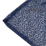 "LUXURY COLLECTION Duchess Sequin Tablecloth 60x102"" - Navy"