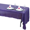 "60""x126"" Purple Premium Sequin Rectangle Tablecloth"