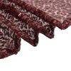 "90x156"" Burgundy Premium Sequin Rectangle Tablecloth"
