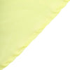 "108"" Yellow Polyester Round Tablecloth"