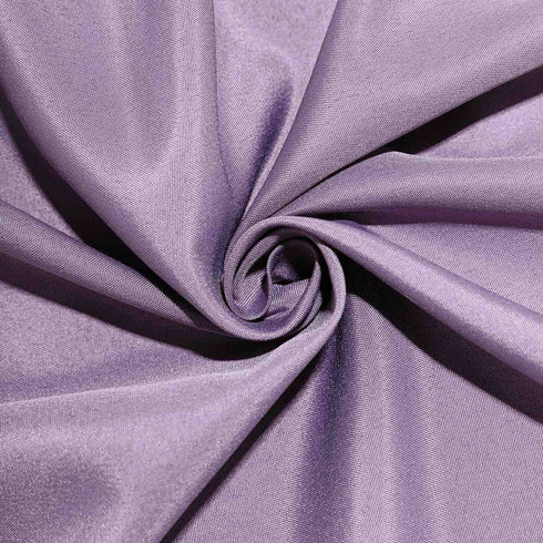 120 Violet Amethyst Polyester Round Tablecloth
