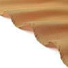 "120"" Gold Polyester Round Tablecloth"
