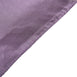 "60x102"" Amethyst Satin Rectangular Tablecloth"