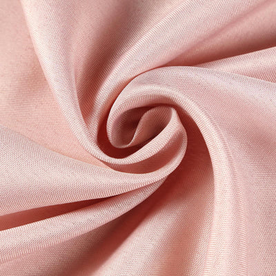 "60x102"" Dusty Rose Polyester Rectangular Tablecloth"